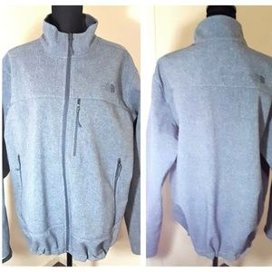 The North Face Grey Windwall Windbreaker Jacket XL